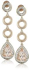 10k Rose Gold Morganite and Diamond L…