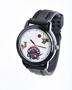 NBA Toronto Raptors Shooting Ball Black Watch and Band by Overtime Watch