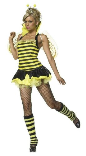 Costumes For All Occasions Ua83275Sd Queen Bumble Bee Sexy Small Md