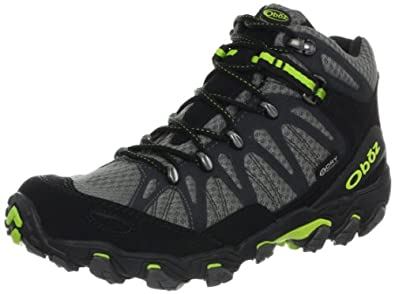 Oboz Men's Traverse Mid Bdry Hiking Boot,Dark Shadow,8 M US