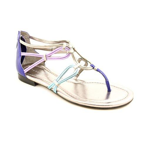 Ivanka Trump Women'S Rissa Strappy Flat Sandals In Dark Purple Size 10 front-252833