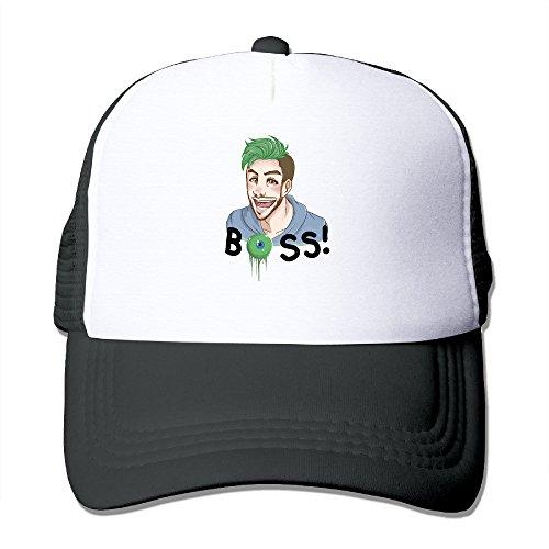 ya-hiuk-cappellino-da-baseball-uomo-black-taglia-unica