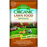 EspomaEOFW30Fall Organic Lawn Fertilizer-5M ORGANIC FALL FOOD
