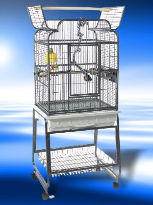 Image of Xavier Parrot Cage And Matching Stand (B002A4FAM2)