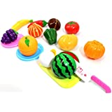 PowerTRC® Kitchen Fun Cutting Fruits & Vegetables Food Playset For Kids