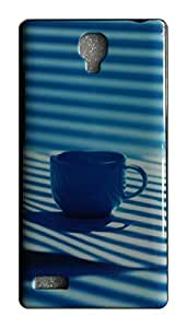 Serebroarts Back Cover Xiaomi Redmi Note 4G - The Tea Cup with Sun Coming in Window on Back Cover Theme