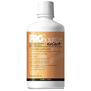 Prosource No Carb Liquid Protein, 32 Ounce, 4 Case