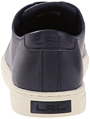 Lauren Ralph Lauren Women's Waverly Fashion Sneaker, Modern Navy, 9 B US