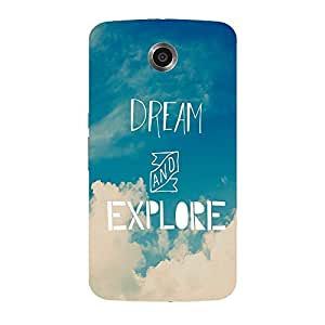 Back cover for Nexus 6 Dream and Explore