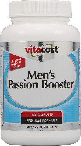 Booster Passion Men Vitacost avec LJ Ali Tongkat