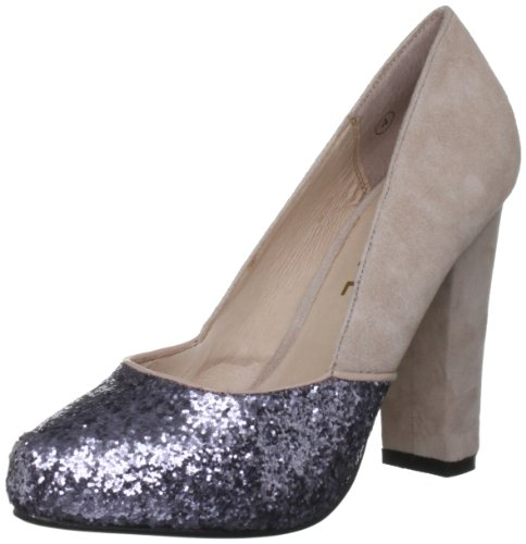 Ravel Women's Kingdom Nude/Pewter Decorative RLS322 4 UK
