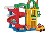 [HSB] Fisher-Price Little People Racing Ramps Garage Playset with Pack of 10 Safety Door Stoppers