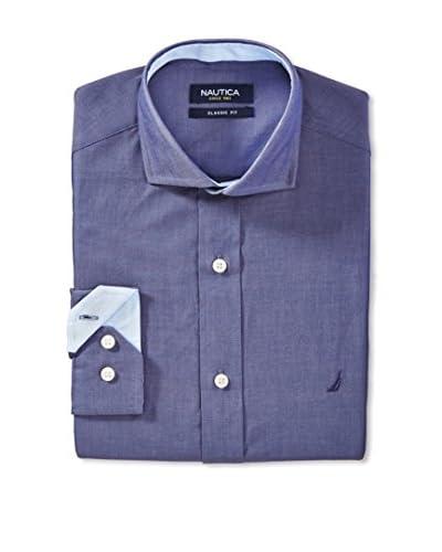 Nautica Men's Solid Dress Shirt