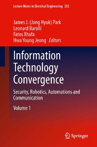 Information Technology Convergence: 253 (Lecture Notes In Electrical Engineering)