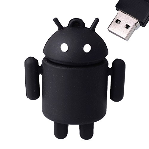 LHN® 8GB Android Robot USB 2.0 Flash Drive (Black)
