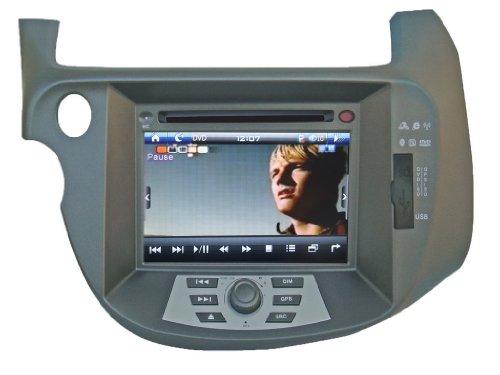 "Car Navigation for Honda Jazz 2009-2011 Indash Car Navigation System GPS Radio AV Receiver and 7"" HD Touch Screen"