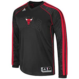 NBA Chicago Bulls On-Court Shooting Jersey by adidas