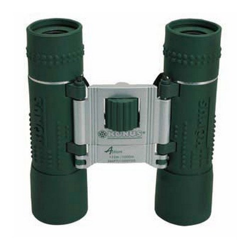 "Konus Optical & Sports System ""Green Rubber Ruby Coating Binocular"" 10X25"
