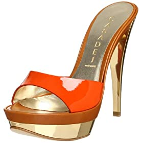 Endless.com: Casadei Women's 8450 High Heel Mule Sandal: Categories - Free Overnight Shipping & Return Shipping