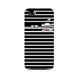 NXT GEN Peekaboo Premium Printed Mobile Back Case For Apple iPhone 5/5s