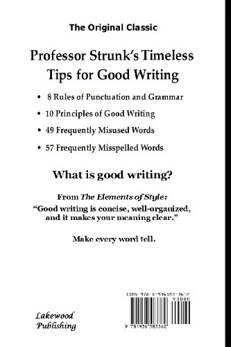 Essential elements of a well written essay