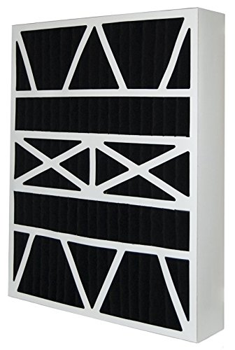 16x25x5 (15.88x24.88x4.38) Carbon Odor Block Aftermarket Payne Replacement Filter (2 Pack)
