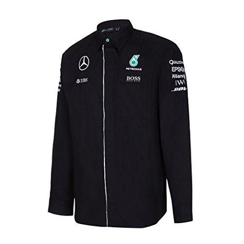 2016-mercedes-amg-f1-formula-one-team-pour-homme-manches-longues-pour-homme-veritable-produit-noir