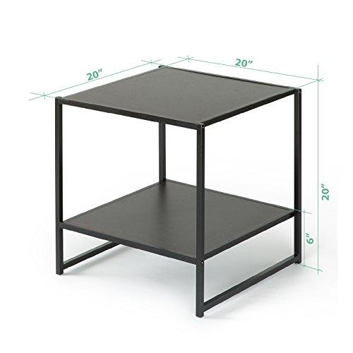 Tangkula 5 Piece Wood Metal Dining Set Kitchen Modern Furniture