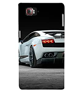 Amazing Car 3D Hard Polycarbonate Designer Back Case Cover for Lenovo Vibe Z2 Pro K920