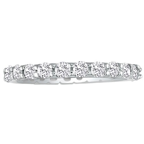 SuperJeweler Platinum Diamond Anniversary Eternity Band 4cttw.HI SI3-I1