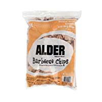Wood Smoker Chips - 100% All Natural Wood Smoking and Barbeque 2lb Bag of Chips (Alder) from Camerons Products