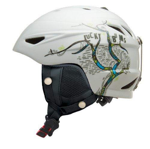 lucky-bums-serie-casco-de-esqui-alpino-cerezo-infantil-color-blanco-tamano-large