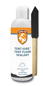 Gear Aid Tent Sure floor sealant with foam brush, 8-Ounce