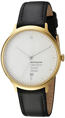 Mondaine No 1 Light MH1.L2211.LB Reloj de Pulsera para hombres Clásico & sencillo