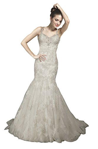 Vogue bridal halter neck heavy beaded mermaid wedding gown for Heavy beaded wedding dresses