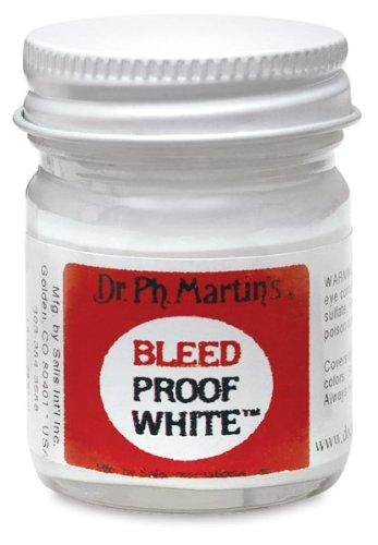 Dr. Ph. Martin'S Bleed Proof White 1 Oz.