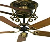 Fanimation FP510AB Bourbon Street Short-Neck Ceiling Fan Antique Brass