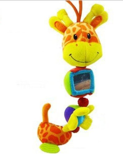 Baby Early Development Musical Toys Multifunctional Plush Giraffe Bed Hang Ring Bell front-521203