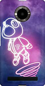 AMEZ designer printed 3d premium high quality back case cover for YU Yupheria (funny cartoon alien)