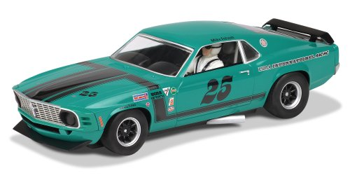 1/32 Slot Car, Scalextric C3318 Us Special, Ford Mustang '70 Boss 302 - Libra Intl Racing