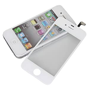 White LCD Touch Screen Glass Digitizer Replacement for Iphone 4s