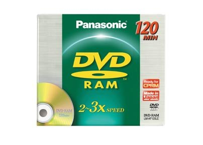 Panasonic DVD-RAM 4.7GB, 3x speed dvd discs - Pack 50