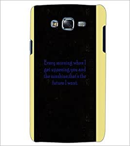 PrintDhaba Quote D-4966 Back Case Cover for SAMSUNG GALAXY ON 5 (Multi-Coloured)