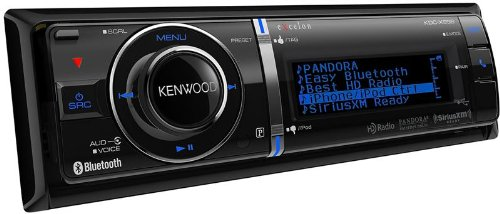 Kenwood Kdc-X996 Excelon In-Dash Usb/Cd Receiver With Built-In Bluetooth/Hd Radio