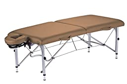 Earthlite 06620FLX Luna Professional Light Weight Aluminum Portable Table Package