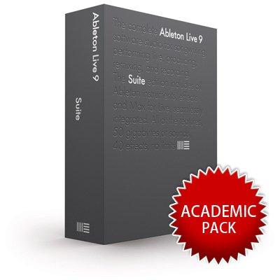 Ableton DAWソフトウェア Live 9 Suite 【アカデミック版】