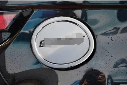 Chrome Fuel Door Gas Tank Cap Stainless Steel New Cover Trim Exterior Fit For Range Rover Evoque 2012 2013 And Malibu 2013