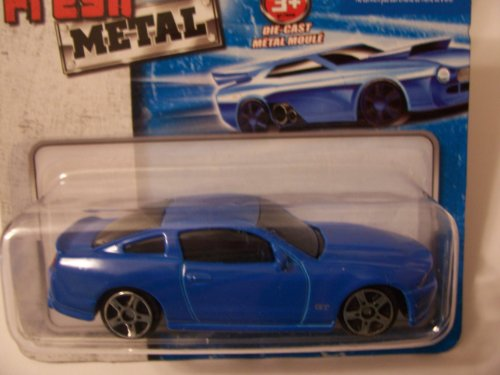 Maisto Fresh Metal Die-Cast Vehicles ~ 2010 Ford Mustang GT (Blue)