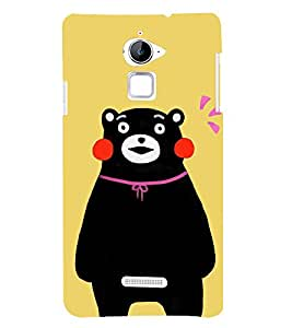 Cute Bear 3D Hard Polycarbonate Designer Back Case Cover for Coolpad Note 3 Lite :: Coolpad Note 3 Lite Dual SIM