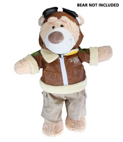 41g7qfx7GwL Cheap Buy  Pilot Outfit Teddy Bear Clothes Fits Most 14   18 Build A Bear, Vermont Teddy Bears, and Make Your Own Stuffed Animals